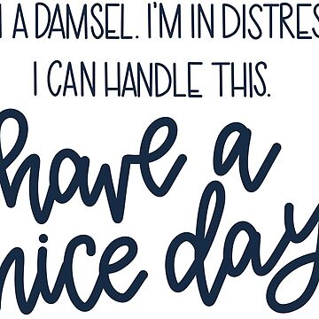 Damsel In Distress by hintofmint