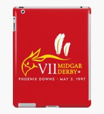 Midgar Derby iPad Case/Skin