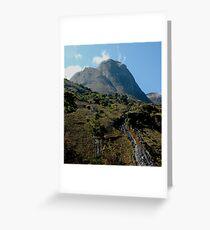Mt Mulanje Greeting Card