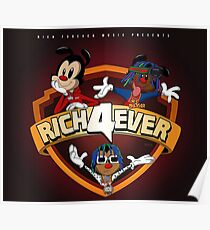 Rich The Kid - Rich Forever 4 Poster