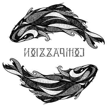 Pisces Zodiac sign ( COMPASSION ) by mcrum