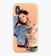 Lil Skies posed up iPhone Case