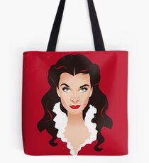 Red Scarlett Tote Bag