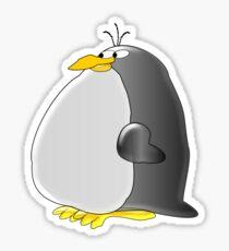 Fat Penguin Sticker