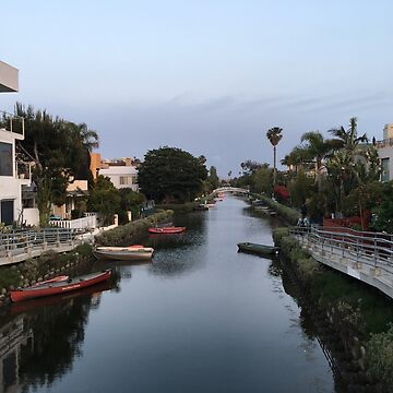 Venice Beach Canal by PrintHub