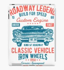 Cars | Classic Cars | Vintage Cars | American Muscle | American Cars iPad Case/Skin