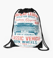 Cars | Classic Cars | Vintage Cars | American Muscle | American Cars Drawstring Bag