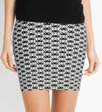 Space Invader pattern Mini Skirt