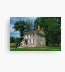 Washington's Headquarters Canvas Print