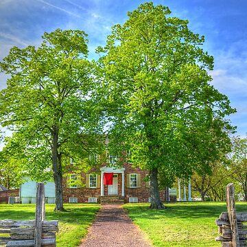 Civil War Field Hospital by lookherelucy