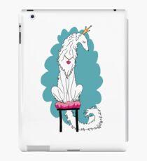 Borzoi Princess White iPad Case/Skin