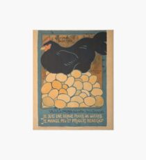 Vintage poster - I am a Fine War Hen Art Board