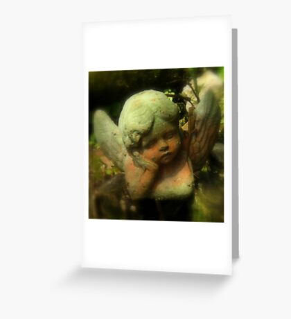 Angel In The Garden ~ Part One Greeting Card