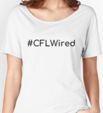 #CFLWired Women's Relaxed Fit T-Shirt