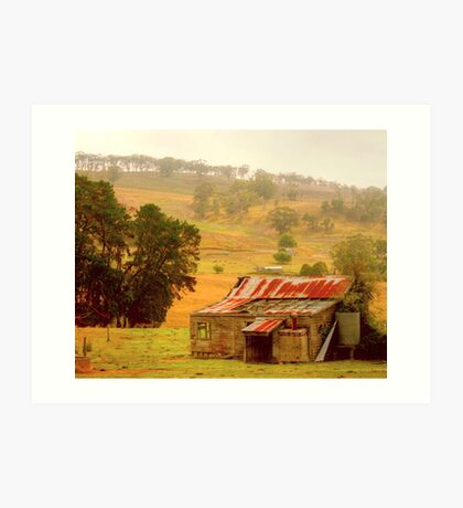 Country Charm .. Gippsland Art Print