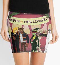 Happy Halloween From The Burners Mini Skirt