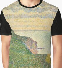 Georges Seurat Seascape at Port-en-Bessin, Normandy 1888 Painting Graphic T-Shirt