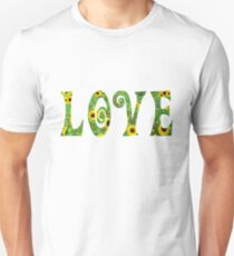 Sunflower Hippy Love Slim Fit T-Shirt