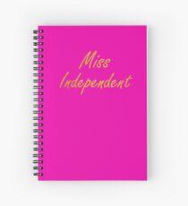 Ne-Yo - Miss Independent Spiral Notebook