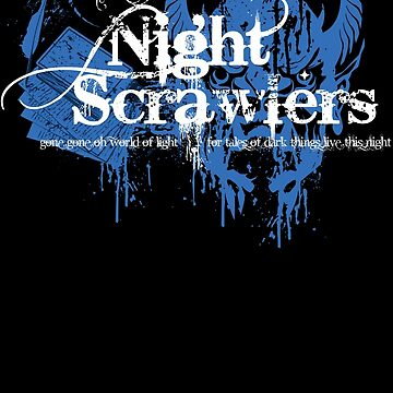 """The Nightscrawlers"" Official Member Shirt by VortexDesigns"