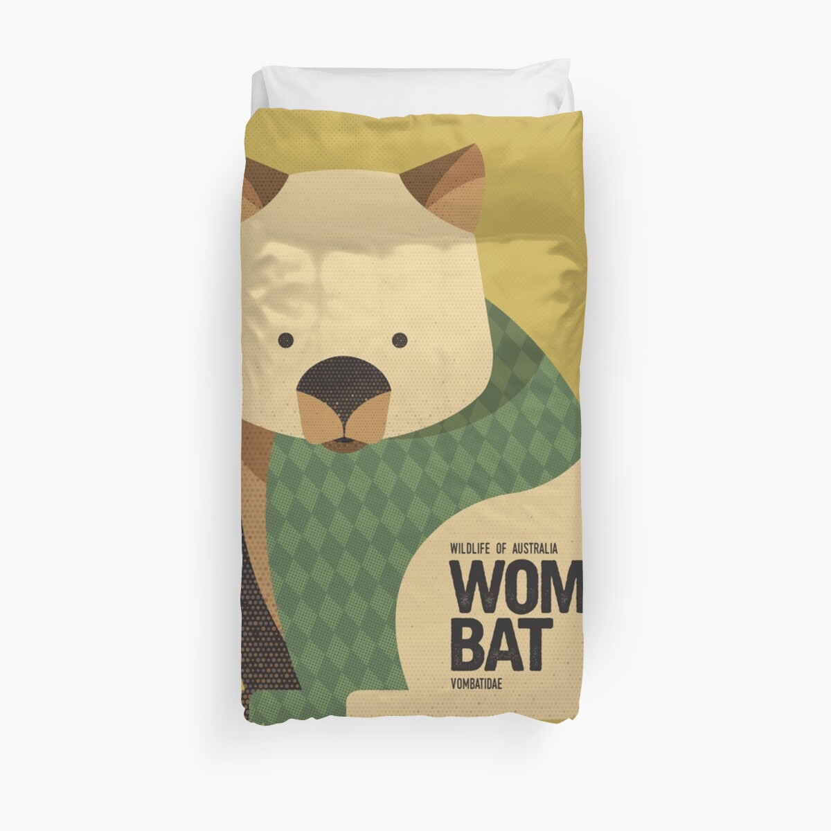 Retro Wombat by printedsparrow