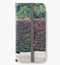 A statue of Huckleberry Finn and Tom Sawyer iPhone Wallet/Case/Skin