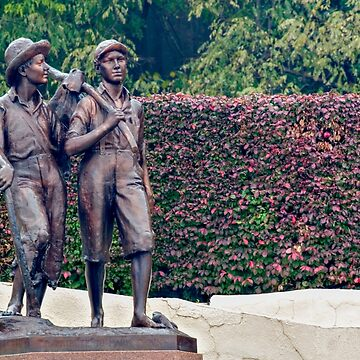 A statue of Huckleberry Finn and Tom Sawyer by PhotoStock-Isra