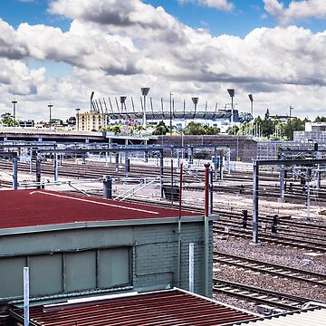 Melbourne Railway by urbanfragments