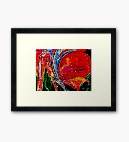 Flow of Life Framed Print