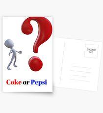 Soft drinks Postcards