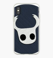 Hollow Knight - The Knight Embroidered Icon iPhone Case