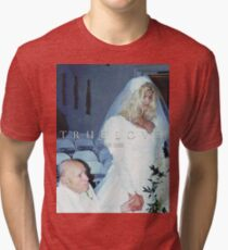 True Love Never Dies Anna Nicole Smith (Ironic Love) Tri-blend T-Shirt