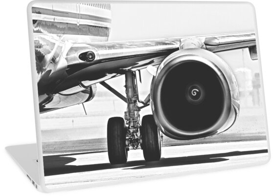 Jet Turbofan Engine by Buckwhite