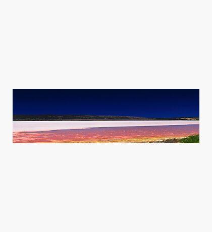 Hutt Lagoon - Western Australia  Photographic Print