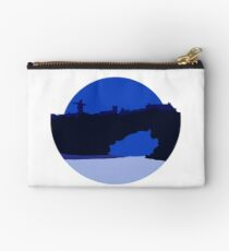 Sunset over Solitude - Blue Studio Pouch