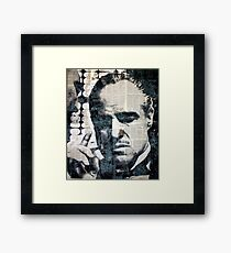 The Offer He Couldn't Refuse... Framed Print