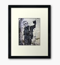 McQueen Framed Print