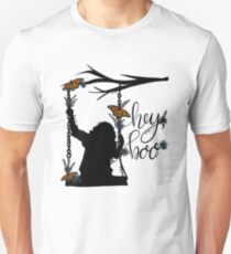 To Kill A Mockingbird, inspired silloette - Hey, Boo. Unisex T-Shirt