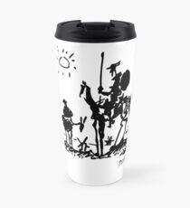 Pablo Picasso Don Quixote 1955 Artwork Shirt, Reproduction Travel Mug