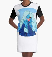 It's you- Blue Diamond and Steven Graphic T-Shirt Dress