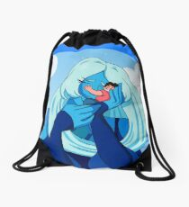 It's you- Blue Diamond and Steven Drawstring Bag