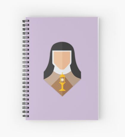 St. Clare of Assisi Spiral Notebook