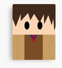 Doctor Who: 10th Doctor!  Canvas Print