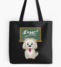 Shihtzu Shitzu Einstein dog tshirt - Dog Gifts for Shihtzu and Maltese Dog Lovers Tote Bag