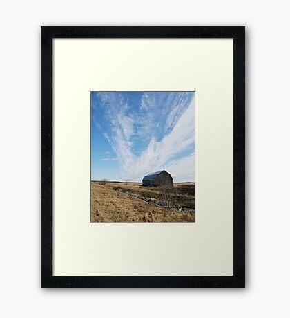 Big Sky Framed Print
