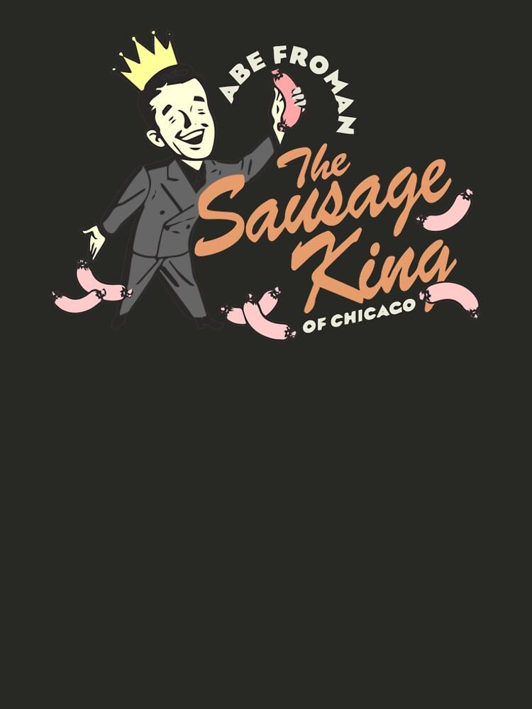 Abe Froman, Wurst-König von Chicago, Weinlese 1986 T-Shirt, ursprünglicher Retro- Entwurf von clothorama