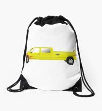pussy wagon Drawstring Bag