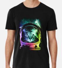 Astronaut Cat V.II Premium T-Shirt