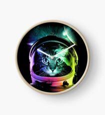 Astronaut Cat V.II Clock