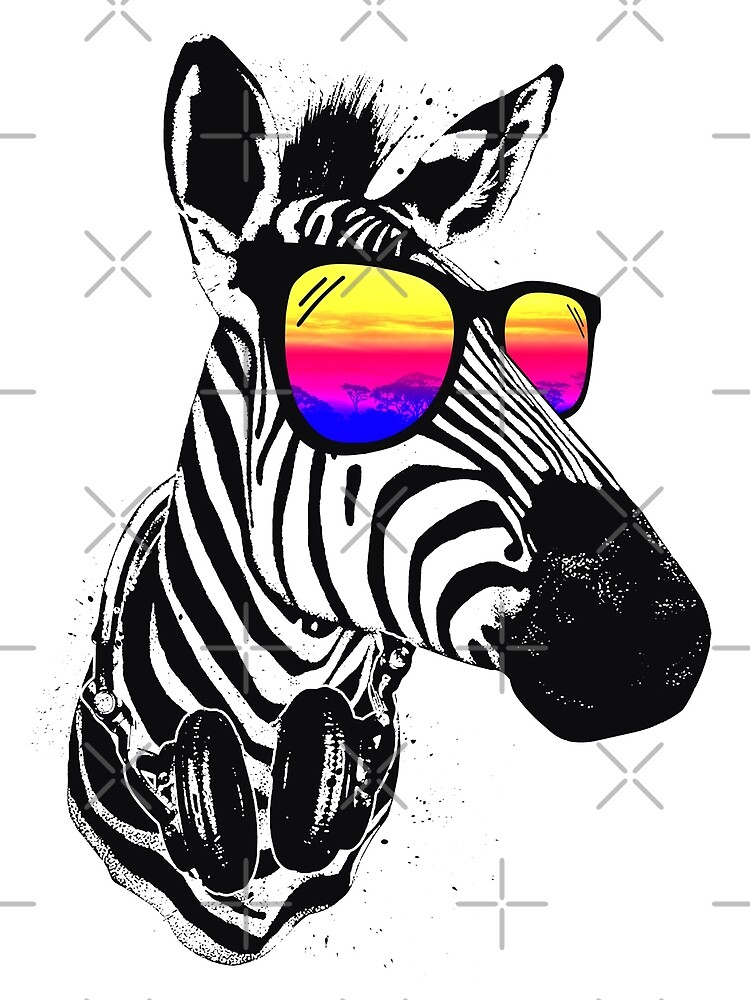 Cool Zebra by clingcling